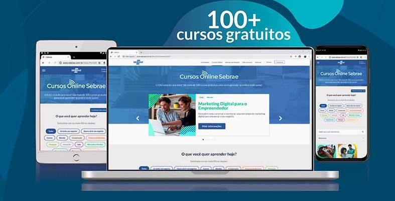 Sebrae-AM oferece cursos e conteúdos gratuitos em plataforma digital