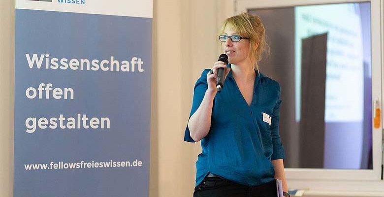 """Fellow-Programm """"Freies Wissen"""" fördert ZB MED-Wissenschaftlerin - Stärkung der Idee von Offener Wissenschaft"""