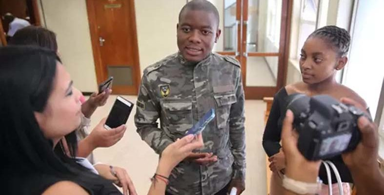 Lamola being a 'populist demagogue' on Kanya Cekeshe issue - student activist