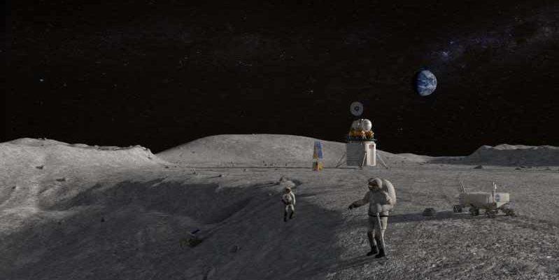 Poeira lunar pode representar perigo aos futuros exploradores espaciais
