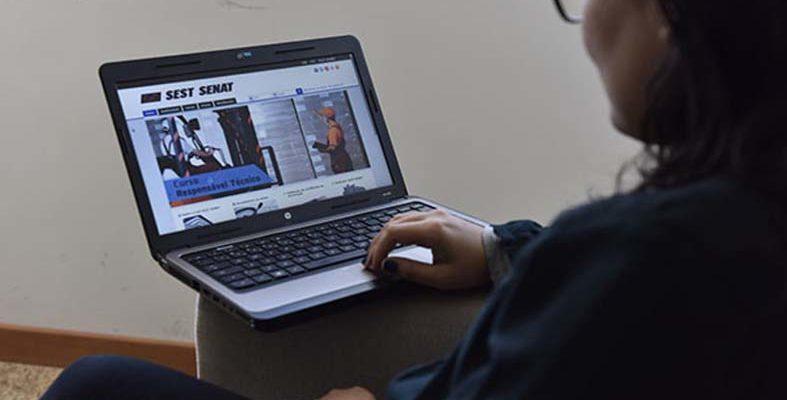 Senai, SEST SENAT e IPED oferecem cursos gratuitos online (EaD) e com certificado
