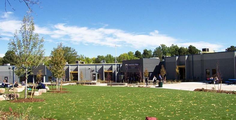 Wellness courtyard designed to help Colorado Springs charter school students manage emotions